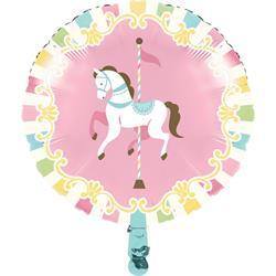 Pink Carousel Foil 45cm