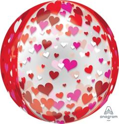 ORBZ Floating Hearts 38cm
