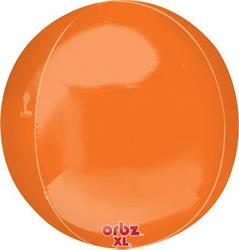 Orbz Dazzling Orange Solid Colour 43cm x 45cm
