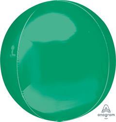 Orbz Green Dazzling Solid Colour 43cm x 45cm