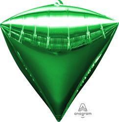 Diamondz Bright Green Solid Colour 40cm x 43cm