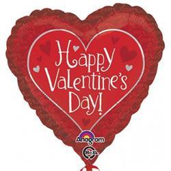 Hidden love Happy Valentines Day 45cm
