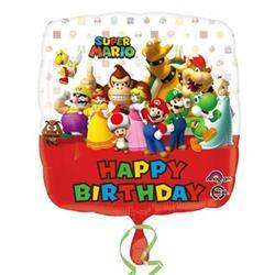 Mario Bros Happy Birthday 43cm HX S60