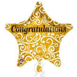 Congratulations Sophisticated Star XL 45cm