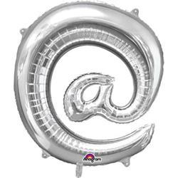 Symbol @ Silver 76cm x 81cm