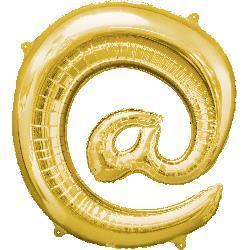 Symbol @ Gold 76cm  x 81cm