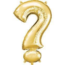 Symbol ? Gold  55cm x 91cm
