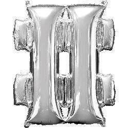 Symbol   Silver 40.5cm