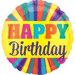 Happy Birthday Blast Burst 70cm