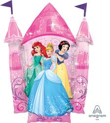 Disney Multi Princess Castle Shape G 66 x 89cm