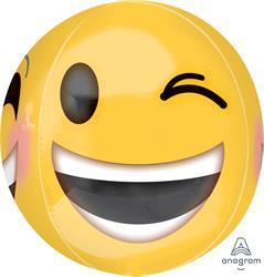 ORBZ Winking Emoji 38cm