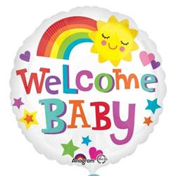 Welcome Baby Bright & Bold HEXL 43cm