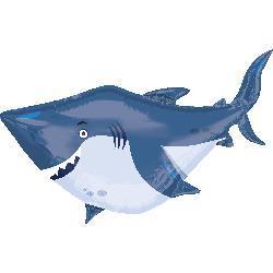 Ocean Buddies Shark 101cm x 81cm