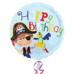Little Pirate Happy Birthday HEXL 43cm