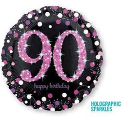 Pink Celebration 90 Holographic Sparkles 45cm