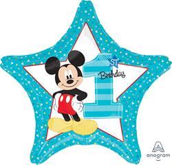 Mickey 1st Birthday 45cm