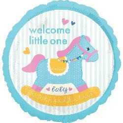 Welcome Little One Rocking Horse 45cm