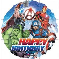Avengers Happy Birthday Foil 45cm