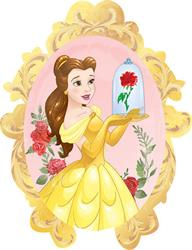 Beauty and The Beast Helium Shapes 71cm x 84cm