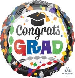 Congrats Grad Party 45cm