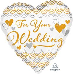 For Your Wedding 45cm