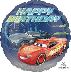 Cars Happy Bithday 45cm