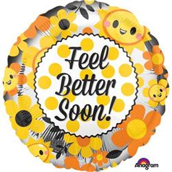 Feel Better Happy HEXL 43cm