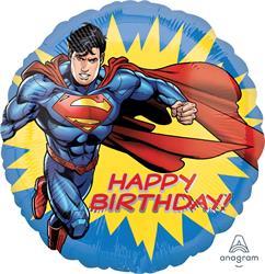 Superman Happy Birthday 45cm