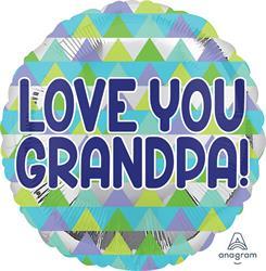 Grandpa Triangle Pattern 45cm