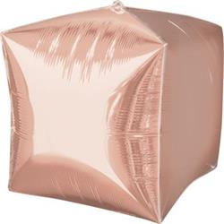 Cubez Rose Gold Dazzling Solid Colour 43cm x 45cm