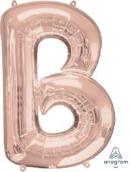 Anagram Letter B Rose Gold 58 x 86cm