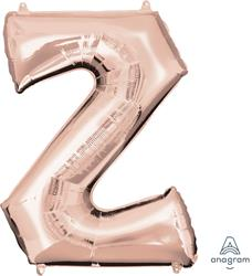 Anagram Letter Z Rose Gold 63 x 83cm