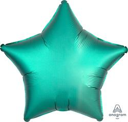 Star Satin Luxe Jade Anagram packaged 45cm