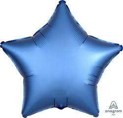 Star Satin Luxe Azure Anagram packaged 45cm