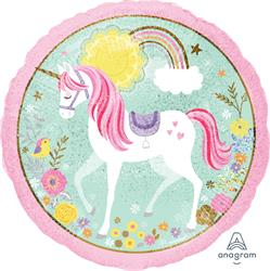 Magical Unicorn Holographic 45cm