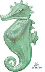 Mermaid Wishes Seahorse Shape 50cm x 96cm