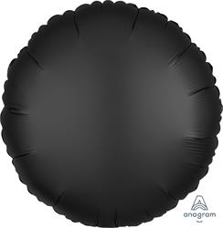 Circle Satin Luxe Onyx Anagram packaged 45cm