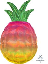 Iridescent Pineapple 43cm X 78cm