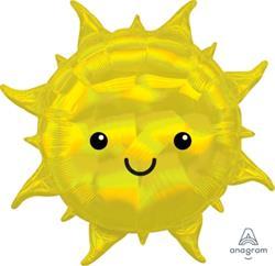 Iridescent R Sun 68cm x 68cm