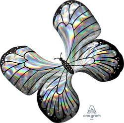 Iridescent Butterfly 76cm x 66cm