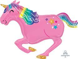 Pink Unicorn 99cm x 86cm