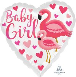 Flamingo Baby Girl 45cm