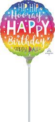 Hip Hip Hooray Birthday 23cm
