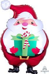 Jovial Santa Junior Shape 33 x 50cm