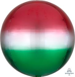 Orbz Ombre Red & Green