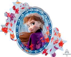 Disney Frozen 2 Satin Super Shape 76cm x 66cm