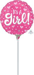 Its a Girl Hearts and Dots  23cm