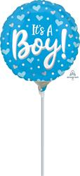 Its a Boy Hearts and Dots 23cm