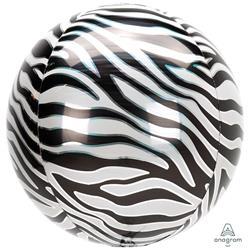 Orbz Zebra Print 38cm x 40cm