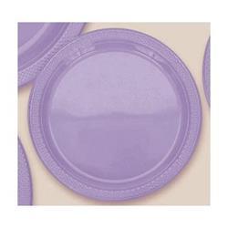 Plate Plastic 17.7cm Lavender